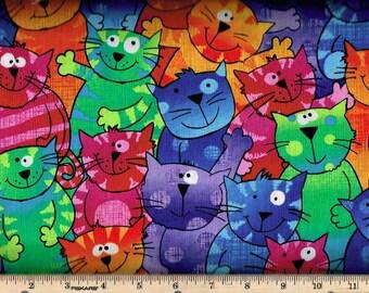 Happy Brite Cats, Timeless Treasures