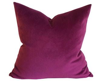 Orchid Velvet Pillow Cover