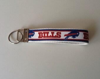 Key Fob With Buffalo Bills Ribbon