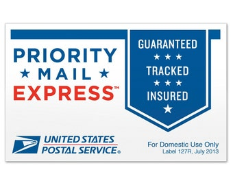 Priority Mail EXPRESS - 1-2 SHIPPING -  Upgrade