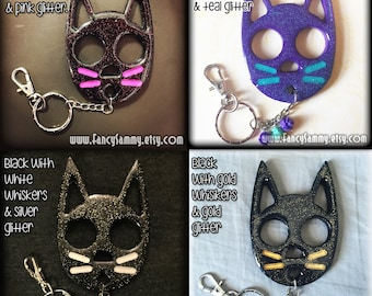 Resin Cat Keychain (Made-To-Order)