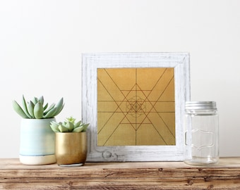 Gold Alchemy: Elevate your Physical Energy - handmade and signed by artist