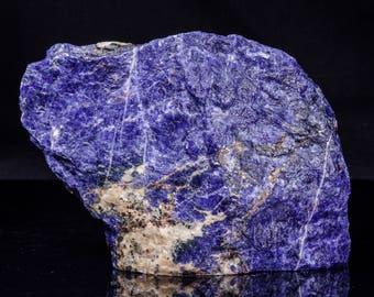 EXTRA LARGE Rough Raw  Blue Sodalite Stone/Sodalite Specimen/Rock Crystal/Healing/Specimen/Crystal Grid/Gift for Him/#3381