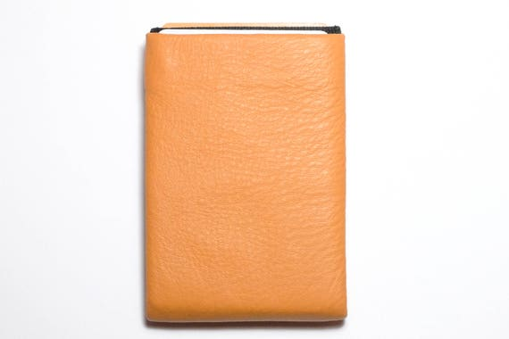 Best men gift, Best Minimalist Wallet, Leather Wallet, RFID Wallet - Original NERO Wallet - Orange