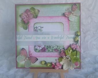 You Are a Wonderful Friend - Card