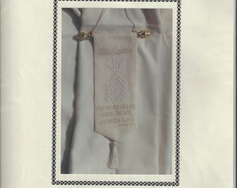 """Clearance-""""Welcome"""" Counted Cross Stitch Chart by Liz Navickas Designs"""