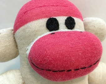 Devon the Baby Friendly Sock Monkey