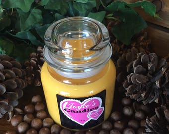 Handmade Lemon Peel 16 oz Soy Candle