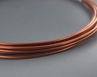 Artistic Wire Bare Copper 16 gauge 10 feet 41450 Thick Round Wire, Jewelry Wire, Craft Wire, Copper Wire, Wire Wrapping, Soft Temper Wire