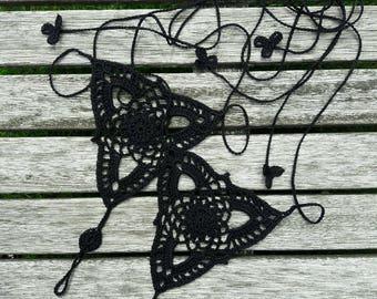 Barefoot sandals crochet, beach sandals, foot jewelry.