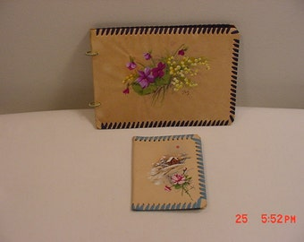 2 Vintage Handmade Booklets  17 - 212