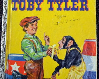 Vintage Children's Book Tobie Tyler First Edition Little Golden Book