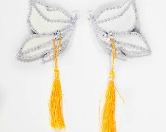 Butterfly Nipple Tassels, Butterfly Burlesque Pasties, Butterfly Tassels, Butterfly Pasties