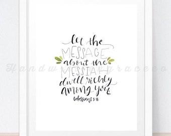 Colossians 3:16