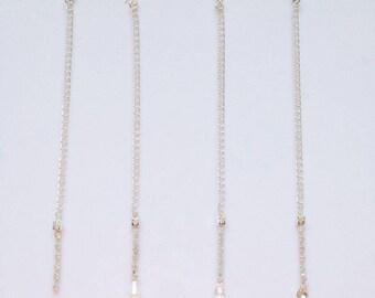 Bridal Crystal Tikka Headpiece Jewel Crystal Pearl Drop Headpiece Indian Jewellery Indian Jewelry Headband Headchain Grecian Wedding Bridal