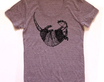 armadillo shirt, armadillo eating a taco tshirt, funny graphic t, austin texas, tacodillo, screen print, silkscreen, free shipping