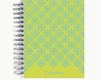Bullet Journal – Personalized   Spiral   Dot Grid   Notebook   Flourish