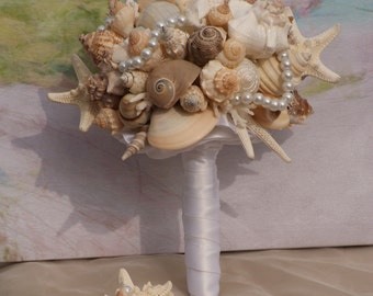 Starfish and Seashell Bouquet