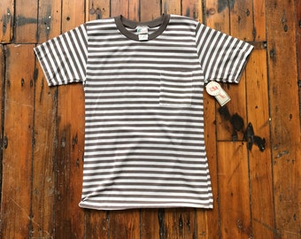 1970's Small-Large Striped Pocket T-Shirt by Islander