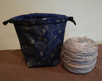 Drawstring Yarn Cake bag