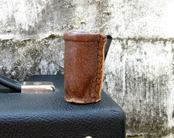 The Original Slider - Leather Guitar Slide Holder