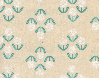 1 Yard Cut - Zephyr for Cotton + Steel - Puff Teal