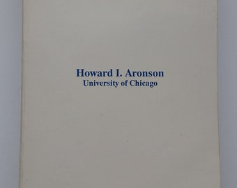Georgian: A Reading Grammar by Howard I. Aronson - Vintage Georgian Language Book 1990 - University of Chicago - Free Shipping
