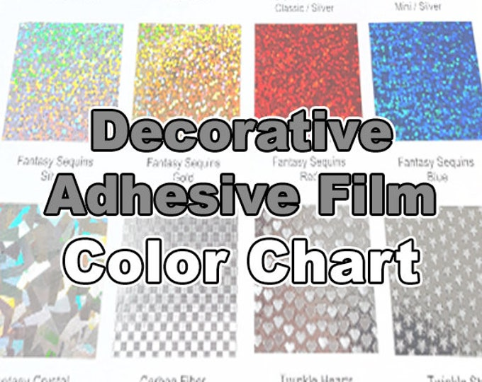 Decorative Vinyl / COLOR CHART (only!)