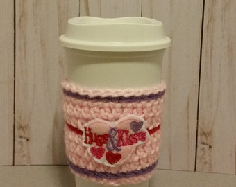 Cup Cozy.Cup Sleeve. Coffee Cozy. Coffee Sleeve. Tea Cozy. Free Shipping.