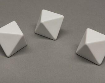 8-sided blank dice