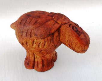 Sheep wood carving (sheep3)