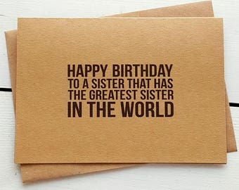 Birthday Cards Delivered ~ Funny sister birthday card funny twins cards funny brother