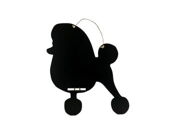 Poodle with Continental Clip Chalkboard