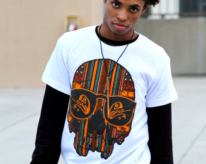 Featured listing image: Dashiki Skull Tees