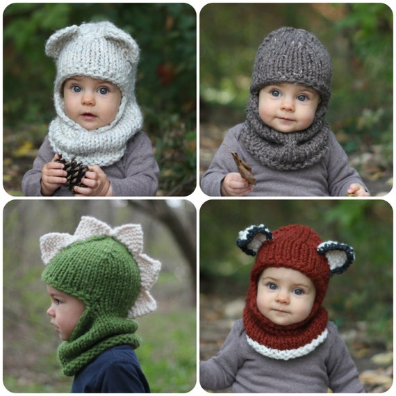 Knitting Pattern With Crochet Detailing The Balaclava Bundle