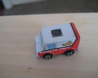 MICRO MACHINES 1990  / Private Eye Porta Pet/ panel truck