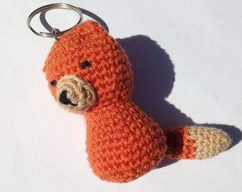 Key-little Fox crochet