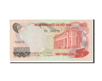 south viet nam 500 dong 1970 km28a au(55-58)