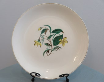 Vintage Starlight . Dinnerware . Salem China . Plate . Sears . Harmony House . Yellow Flower . Lily In The Valley . Floral . Wall Collage