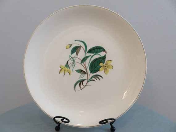 Dinnerware . Salem China . Plate . Sears . Harmony House . Yellow Flower . Lily In The Valley . Floral . Wall Collage & Vintage Starlight . Dinnerware . Salem China . Plate . Sears .