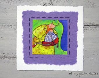 "Small  fine art print ""cara mamma"""