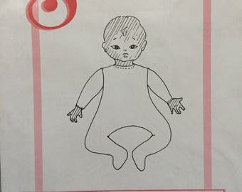 """Dollmaker's Seeley's Pattern #BP06: Cloth Body For 10"""" Doll"""