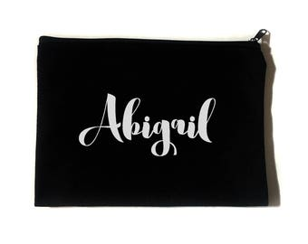 Custom Name Make Up Bag