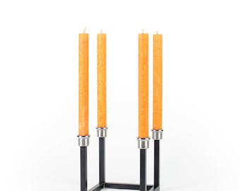 Candle Stand wax overseer steel/stainless Steel