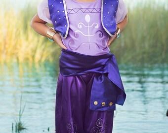 Girlu0027s Shimmer and Shine Inspired Costume Shimmer Shine Costume Shimmer Costume Purple Genie Girlu0027s Birthday Costume QUICK SHIP  sc 1 st  Etsy & Genie costume   Etsy