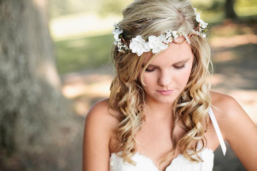 wedding headband bridal flower hair wedding accessories
