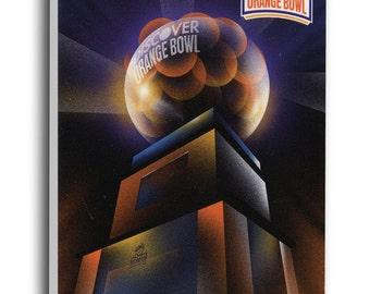 2013 Orange Bowl Canvas Mega Ticket - Florida State Seminoles