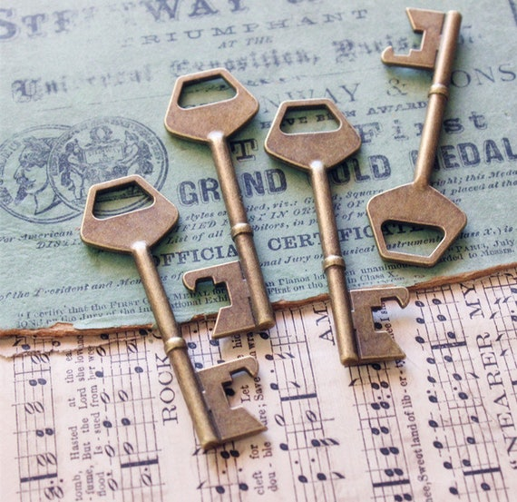 Skeleton Keys bottle openers