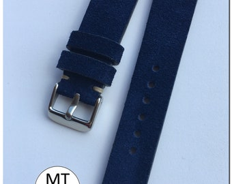 Sell Handmade Vintage suede strap 20 mm
