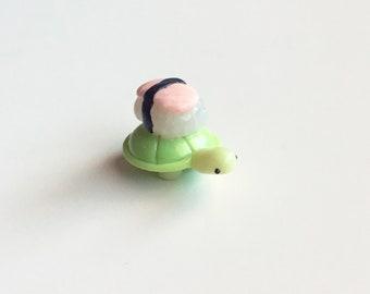 Sushi Turtle Clay Charm